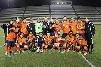San Diego Zest FC - Zest FC players celebrate after defeating FC Golden State Force 5–1 during its 2016 season regular season match.