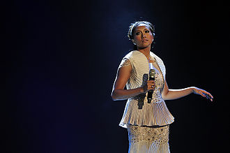 "Ziana Zain - Ziana Zain performing her single, ""Dingin"" at the final of Anugerah Juara Lagu ke-23"