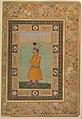 """Portrait of Muhammad Ali Baig"", Folio from the Shah Jahan Album MET DP246555.jpg"