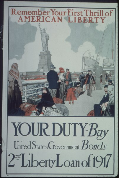 """Buy Government Bonds"" poster"