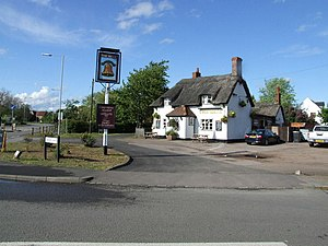 """Cotton End - Image: """"The Bell"""" geograph.org.uk 428175"""