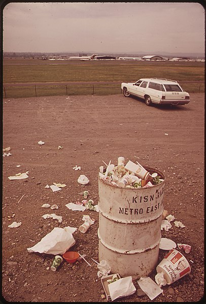 "File:""Viewing"" Site for Visitors at Portland Airport - And the View They Leave behind Them 05-1973 (4272364454).jpg"