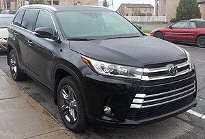 Toyota Highlander - Image: '17 Toyota Highlander