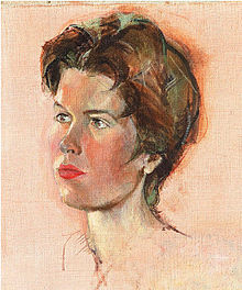 'Autoportrait' by Hubertine Heijermans 1959.jpg