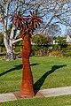 'Is Man an Ape or Angel?' sculpture in Addington, Christchurch, New Zealand 09.jpg