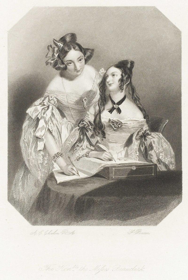 'The Honble the Misses Beauclerk' RMG PY6179-002.tiff