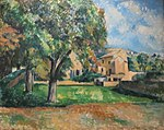 'Trees in a Park' by Paul Cézanne, 1886-7, Pushkin Museum.JPG