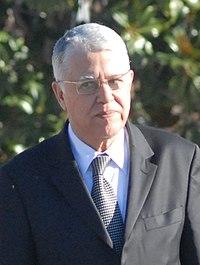 (Abás El Fasi) Rodríguez Zapatero pasa revista a las tropas junto al primer ministro de Marruecos en el marco de la IX Reunión de Alto Nivel Hispano-Marroquí. Pool Moncloa. 16 de diciembre de 2008 (cropped).jpeg