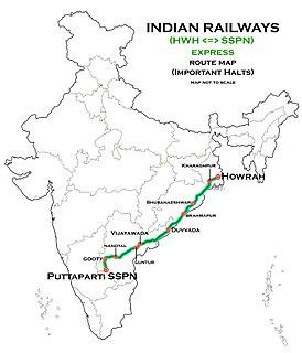 Howrah–Sathya Sai Prasanthi Nilayam Express