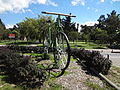 (Parque La Carolina) Gigantic Bicycle, pic a1a.JPG