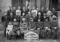 Állami Autóműszaki Intézet tanfolyamának vizsgázói, csoportkép 1955-ből. Fortepan 17511.jpg