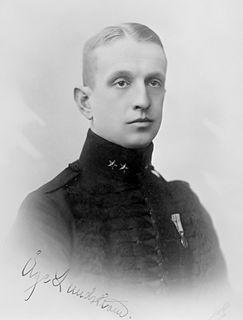 Åge Lundström Swedish Air Force general and equestrian