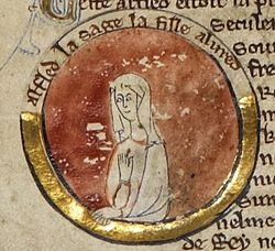 Æthelflæd - MS Royal 14 B V.jpg