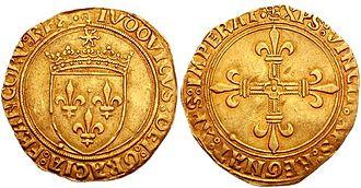 Écu - écu au soleil of Louis XII