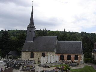 Tourville-sur-Pont-Audemer Commune in Normandy, France