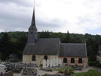 Tourville-sur-Pont-Audemer - Image: Église Tourville