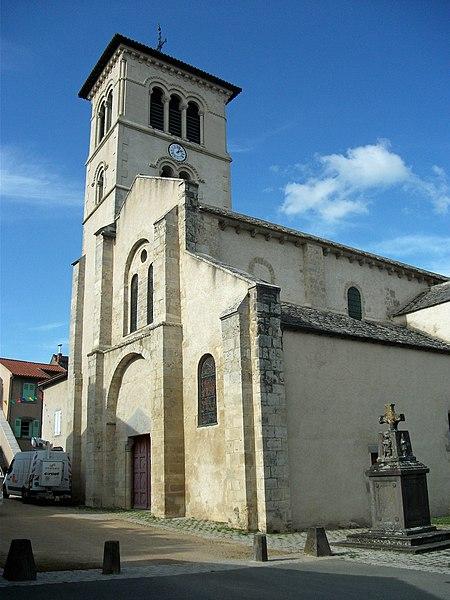 Part of church of Artonne, Puy-de-Dôme, Auvergne-Rhône-Alpes, France [10873]