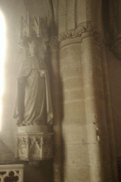 Staue Église Saint-Jacques de fr:Montebourg