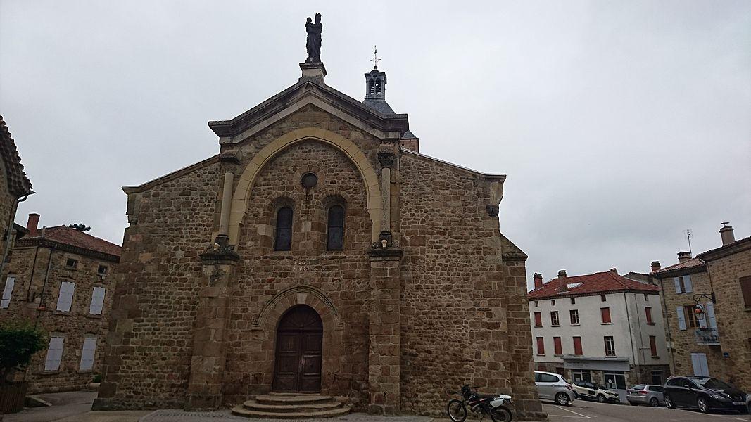 Église de Saint-Félicien en Ardèche