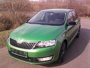 Škoda Rapid (2012) - Image: Škoda Rapid 2014 cs