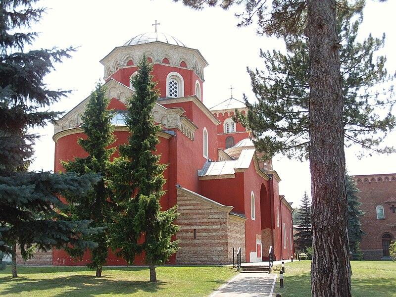 Srpske baštine 800px-%C5%BDi%C4%8Da_Monastery%2C_overview._Near_Kraljevo%2C_Serbia