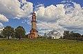 Ансамбль Казанской церкви. Вид от пруда через поле.jpg