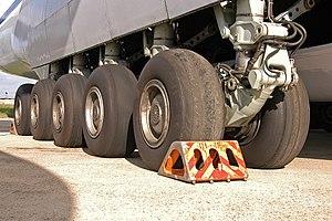 Oleo strut - Antonov An-124 Ruslan landing gear