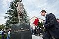 Владимир Мединский на открытии памятника Зое Космодемьянской.jpg
