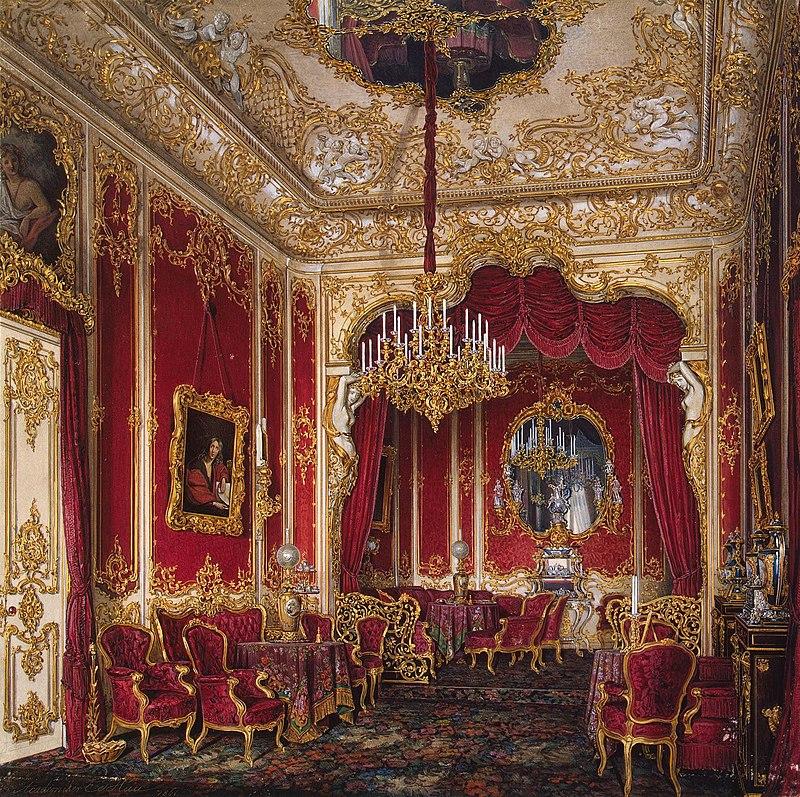 Hermitage Museum Winter Palace Boudoir of Maria Alexeevna