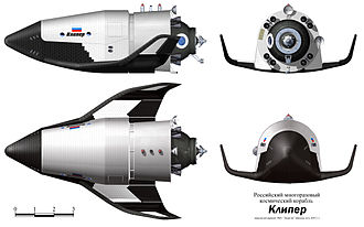Kliper - Kliper spacecraft rendering