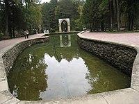 Курортный парк (Ставропольский край, Кисловодск, по долине р. Ольховки, пруд.jpg