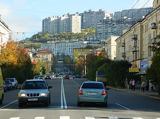 Murmansk - Lenin Avenue