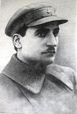 Ministry of Defense of the Republic of Azerbaijan - Image: Наркомвоенмор Азербайджанской ССР А. Г. Караев