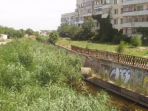 Dzhankoy - Image: Река Степная .Джанкой