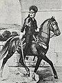 Рисунок к статье «Конно-егеря». Конно-егерский офицер в 1788 году. ВЭС (СПб, 1911-1915).jpg