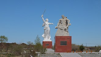 The Motherland Calls - A copy of the monument in China