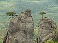 """Скелі із """"Долини привидів"""" (урочище Демерджі).jpg"""