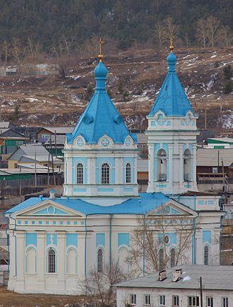 Kyakhta - The Assumption Church in Kyakhta