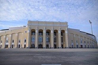 Central Stadium (Yekaterinburg) - Stadium before the 2017 reconstruction