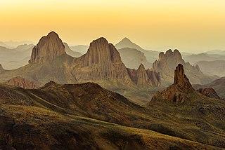 highland region in Algeria