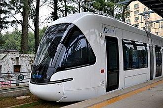 Trams in Wuhan - Optics Valley LRV