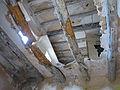 017 Casalot abandonat vora l'església de Marmellar, sostre esfondrat.JPG