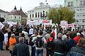 02013 0662 Protest gegen die Liquidation dem Autosan-Werke.JPG