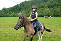 02018 0442 Abschied vom Sommer, Reiten auf den Huzulen Pferden in Rudawka am Wisłok.jpg