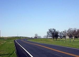 U.S. Route 68 - US 68 in Mercer County, Kentucky