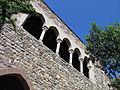 062 Castell cartoixa de Vallparadís (Terrassa), galeria superior del claustre.JPG