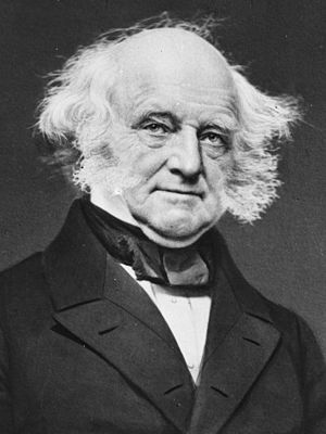 United States presidential election, 1844 - President Martin Van Buren; the campaign of 1844 was his second bid for a second term