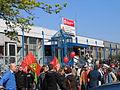 1. Mai 2013 in Hannover. Gute Arbeit. Sichere Rente. Soziales Europa. Umzug vom Freizeitheim Linden zum Klagesmarkt. Menschen und Aktivitäten (017).jpg