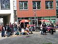 1. Mai 2013 in Hannover. Gute Arbeit. Sichere Rente. Soziales Europa. Umzug vom Freizeitheim Linden zum Klagesmarkt. Menschen und Aktivitäten (229).jpg