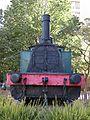 110 Màquina de tren a la cruïlla de la Rambla i el c. Galileu (Terrassa).jpg